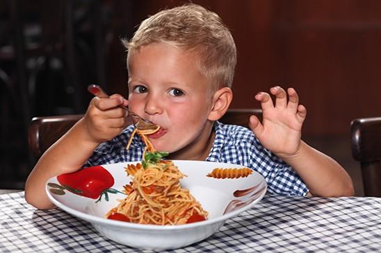 Zařadili jsme nabídku oblíbených dětských jídel.